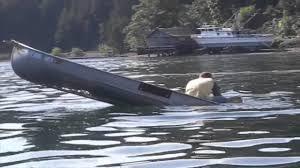 SINKING CANOE